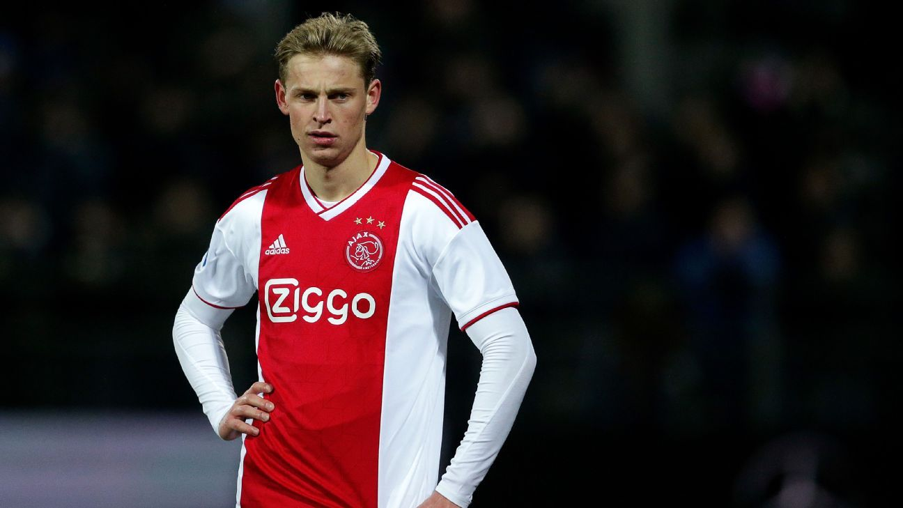 Frenkie De Jong's father says Ajax star '95%' likely to move in summer, hints at Barcelona