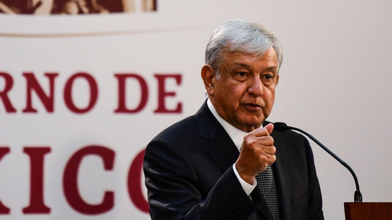 """López Obrador avalaría la renovación de F-1 y NFL """"si no implica dinero federal"""""""