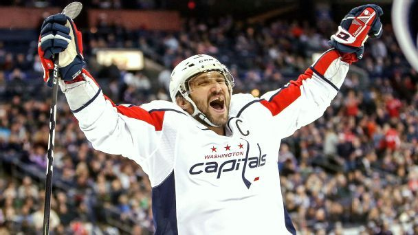 'Old man' Alex Ovechkin is still learning new tricks