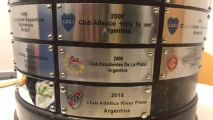 Copa Libertadores trophy has club's name misspelled on winners' plaque