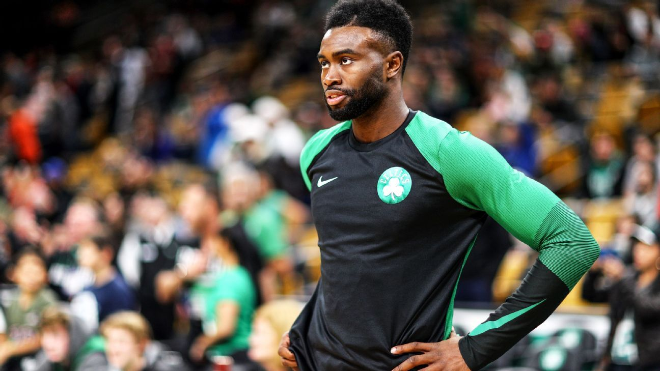 'This is a story that's being written': Jaylen Brown's new reality in Boston