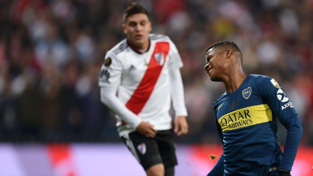 Quintero y Barrios, en el once ideal de la Copa Libertadores 2018
