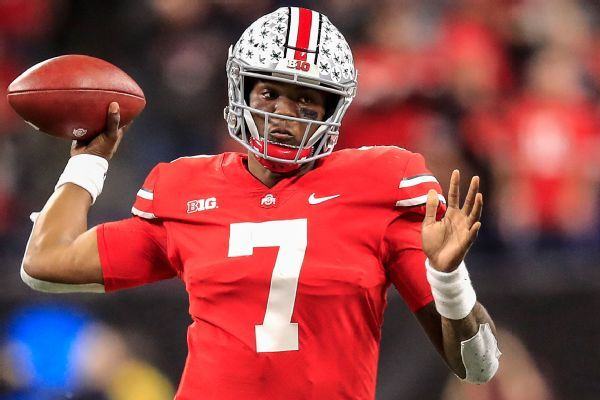 Ohio State QB Dwayne Haskins to throw at NFL combine