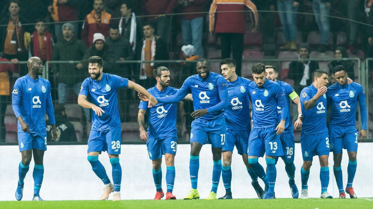 Porto beat Galatasaray but Turks still finish third in Group D