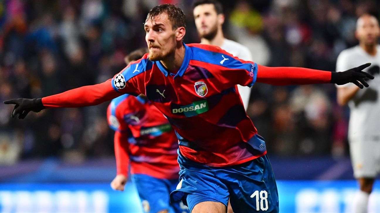 Viktoria Plzen's win over Roma clinches Europa League spot