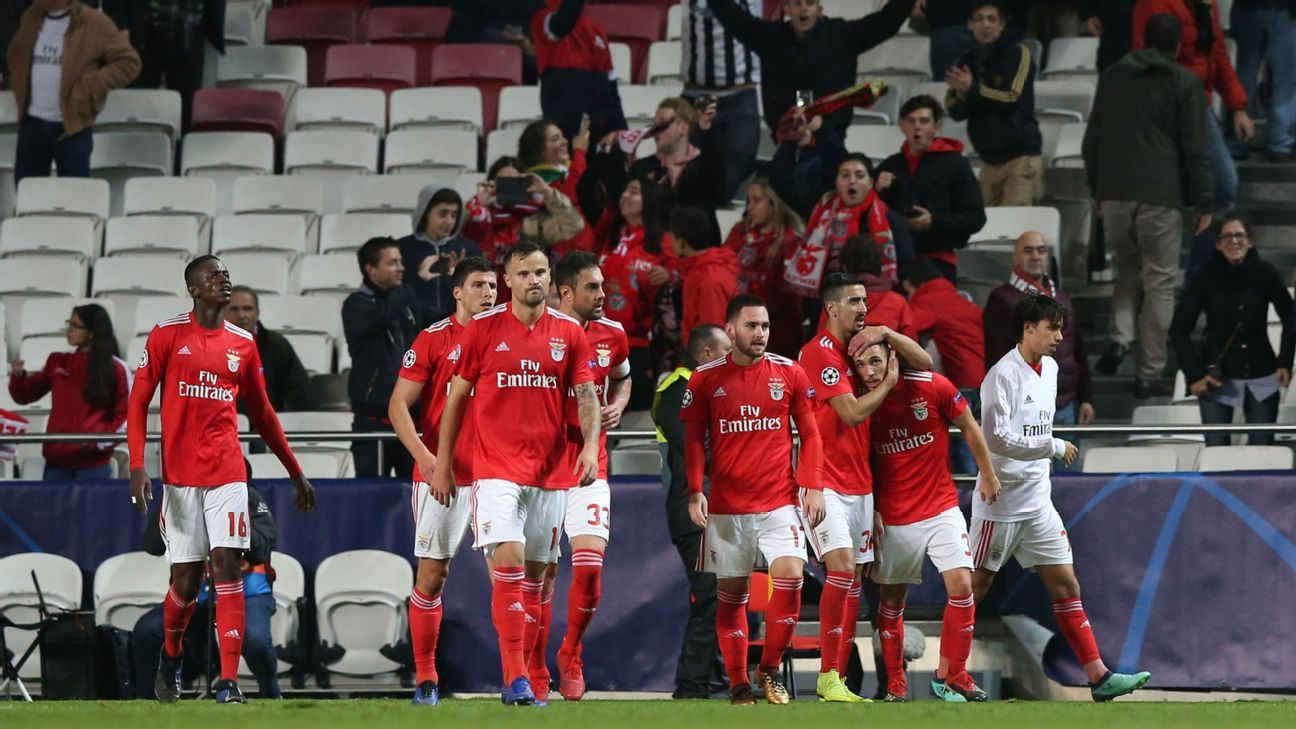 Europa-bound Benfica beat AEK in last Champions League group match