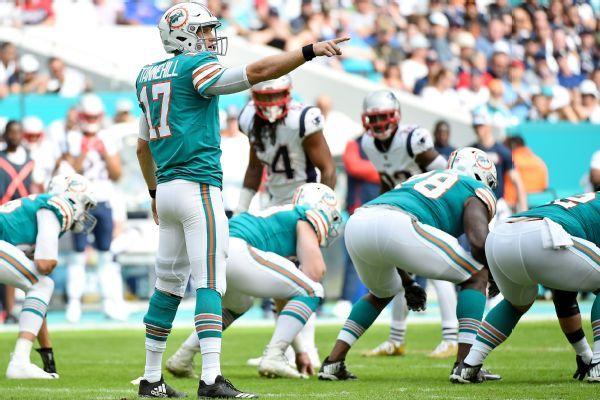 Dolphins QB Ryan Tannehill set to play vs. Vikings barring setback
