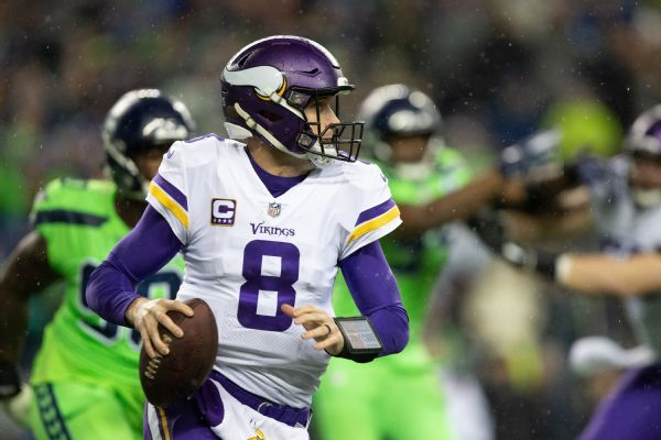 QB Kirk Cousins takes 'ownership' for Vikings' struggles on offense