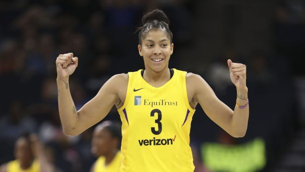 Sparks star Candace Parker steps up her offseason game