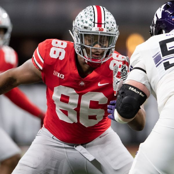Ohio State DT Dre'Mont Jones entering NFL draft, but will play in Rose Bowl