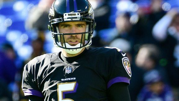 In most humbling moment, Joe Flacco handles benching with class