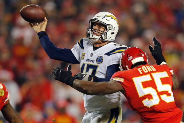 Chiefs still control playoff destiny but margin for error erased by Chargers