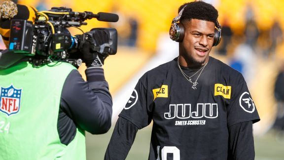 JuJu Smith-Schuster in historic company, with or without Antonio Brown