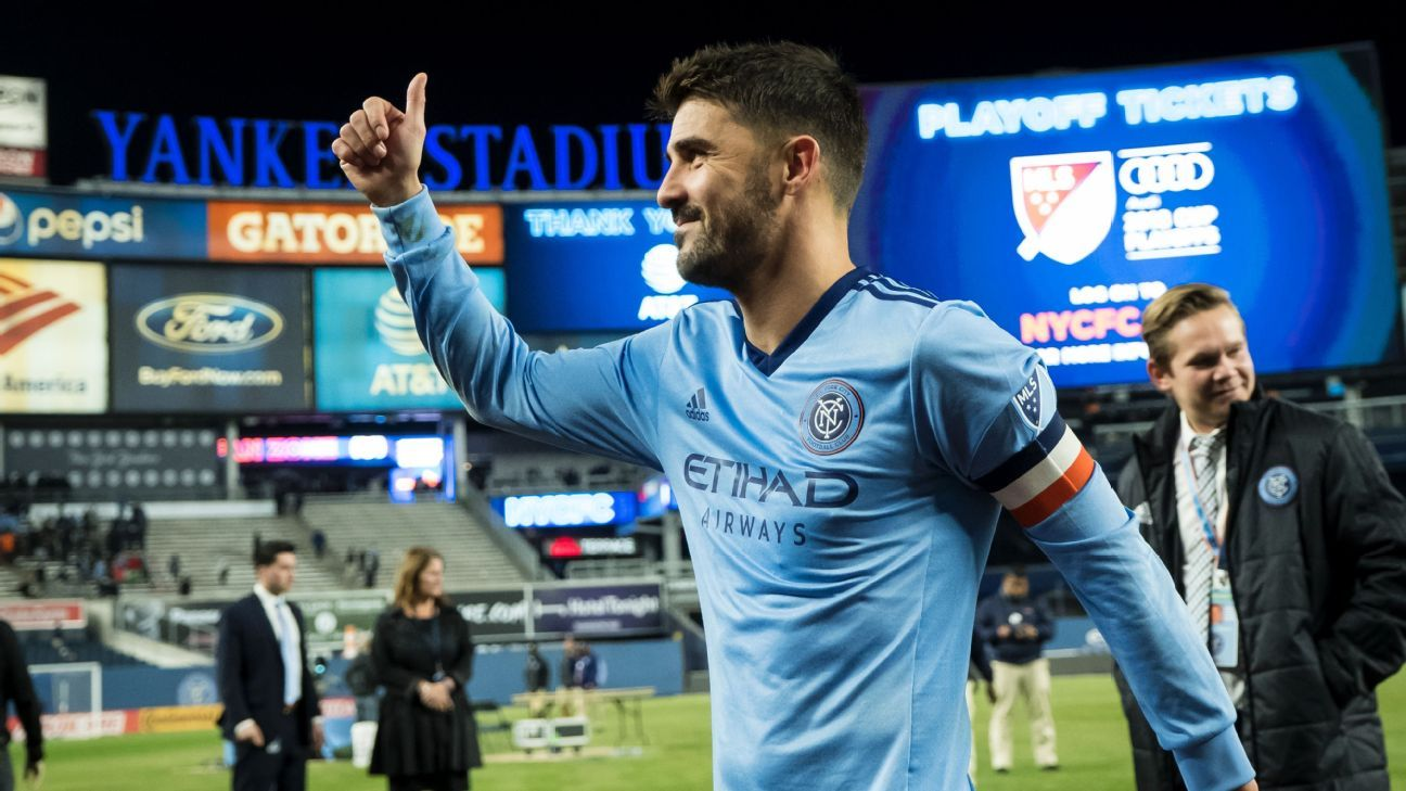David Villa posts emotional farewell to city of New York, NYCFC, fans ahead of his move to Japan