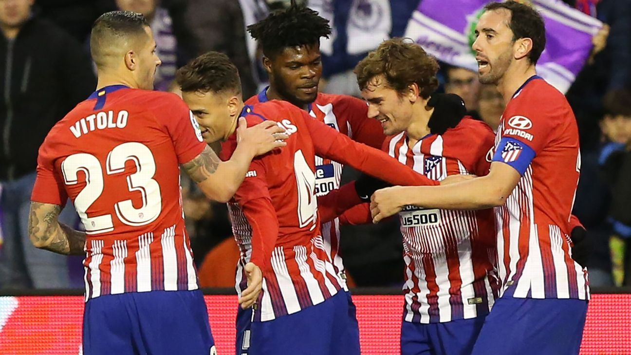 Antoine Griezmann hits late winner for Atletico Madrid at Real Valladolid