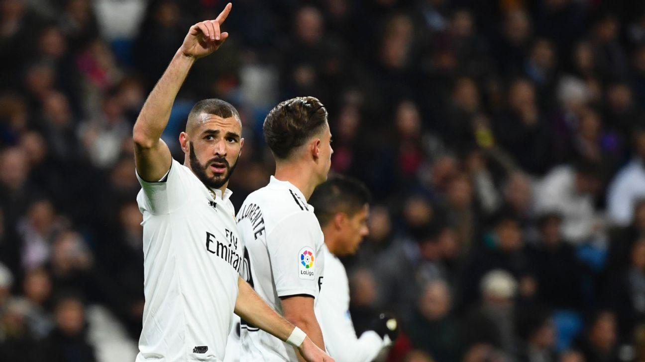 Karim Benzema nets early winner as Real Madrid edge Rayo Vallecano