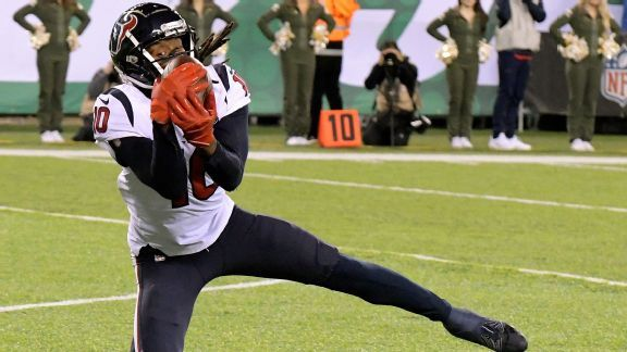 Deshaun Watson, DeAndre Hopkins keep Texans in hunt for playoff bye
