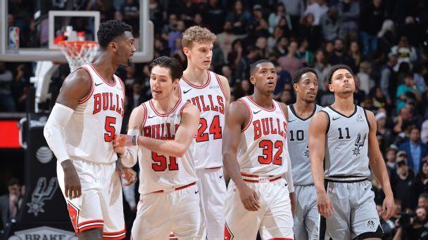 Boylen, Popovich describe tough comeback win by beleaguered Bulls