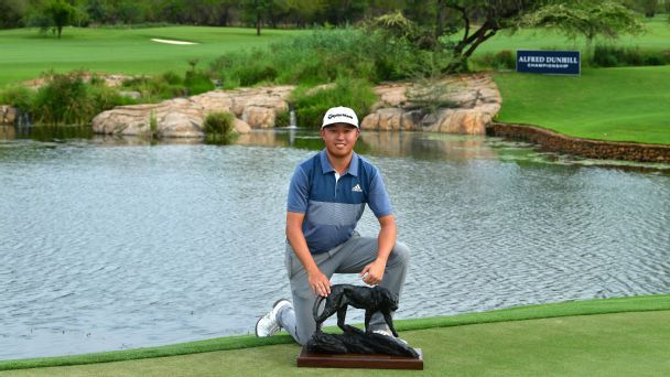 Alfred Dunhill Championship: David Lipsky secures second European Tour title