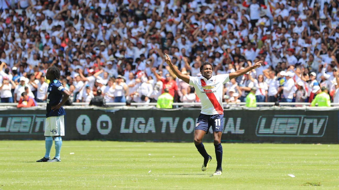 Liga de Quito se consagró campeón de Ecuador