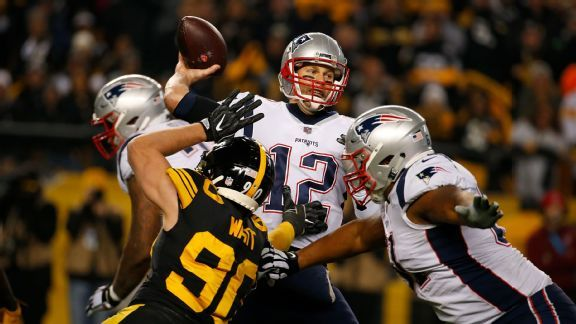 Self-inflicted wounds hurt Patriots in loss to Steelers