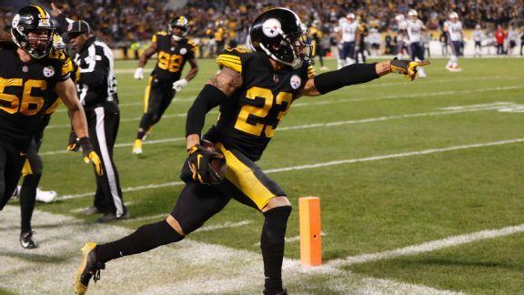 Steelers finally slay Patriots dragon with one Joe Haden leap