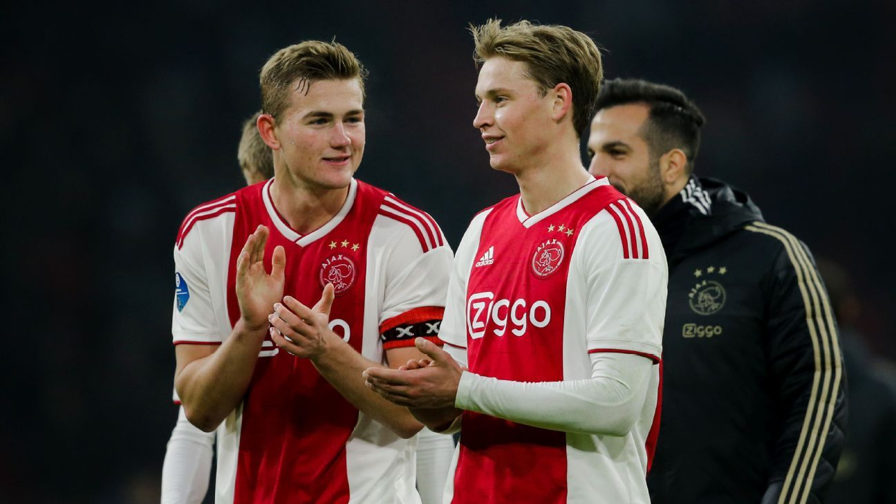 Ajax will not sell Matthijs de Ligt, Frenkie de Jong in January - Edwin van der Sar