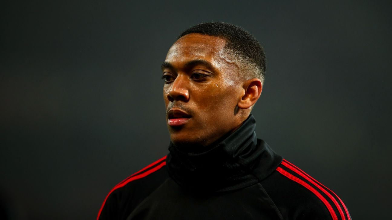 Manchester United extend Anthony Martial's contract - sources