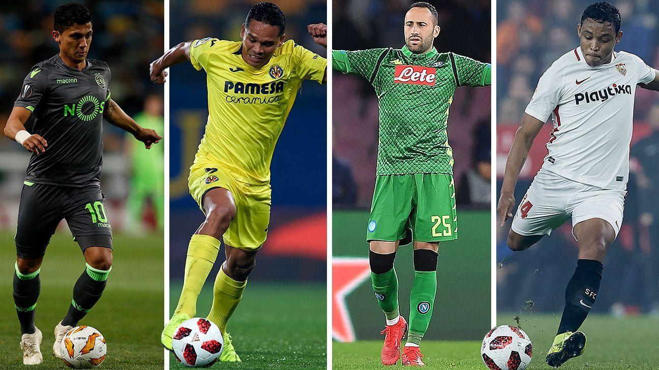 El camino de los colombianos en la UEFA Europa League