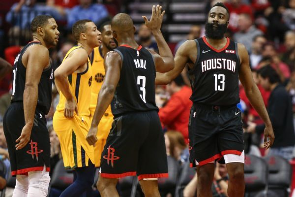 James Harden doesn't deny he got away with travel late vs. Jazz