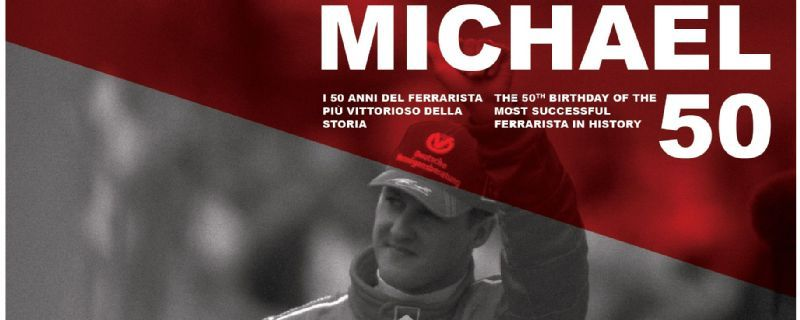 Ferrari  to launch exhibition to celebrate Michael Schumacher's 50th birthday