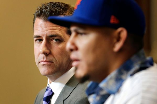 GM touts Mets as NL East favorites as N.Y. introduces another All-Star acquisition