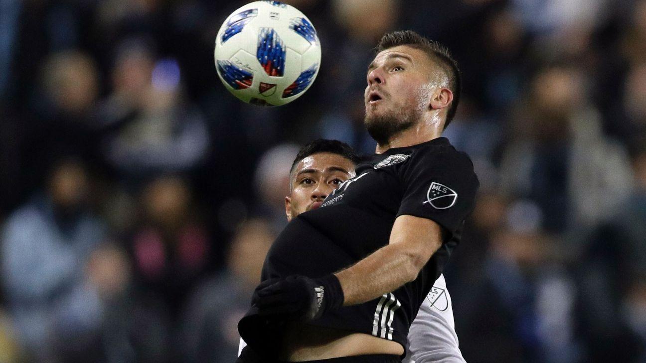 Sporting KC envía a chileno Diego Rubio a Rapids en canje