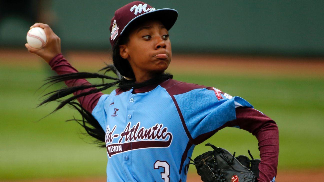 Ex pequeñas ligas Mo'ne Davis jugará sofbol en Universidad de Hampton