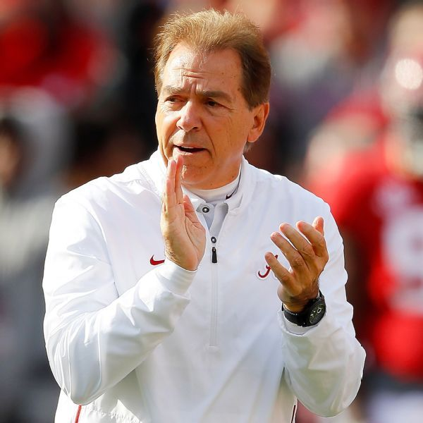 Saban, with new hip, back at work: 'Rolling now'