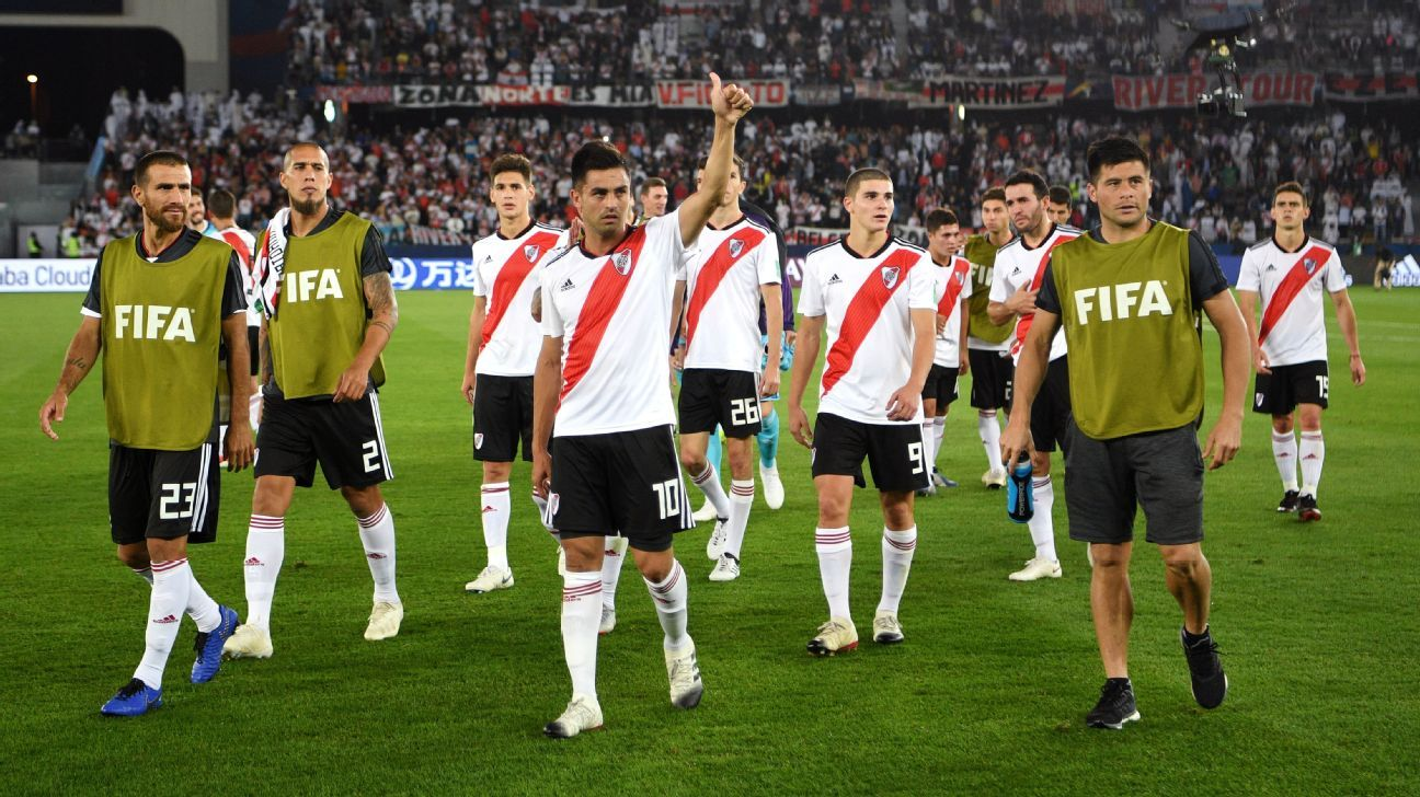 Gonzalo Martinez scores two as River Plate beat Kashima Antlers to secure third place at Club World Cup