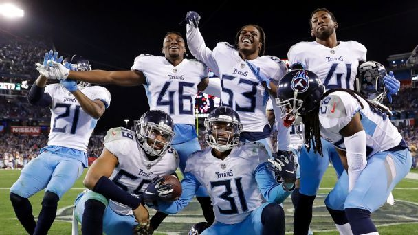 Tennessee Titans' schedule features only one prime-time game