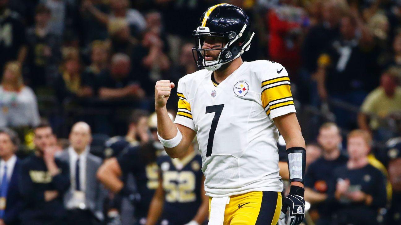 Steelers acuerdan extensión de contrato de Roethlisberger hasta 2021