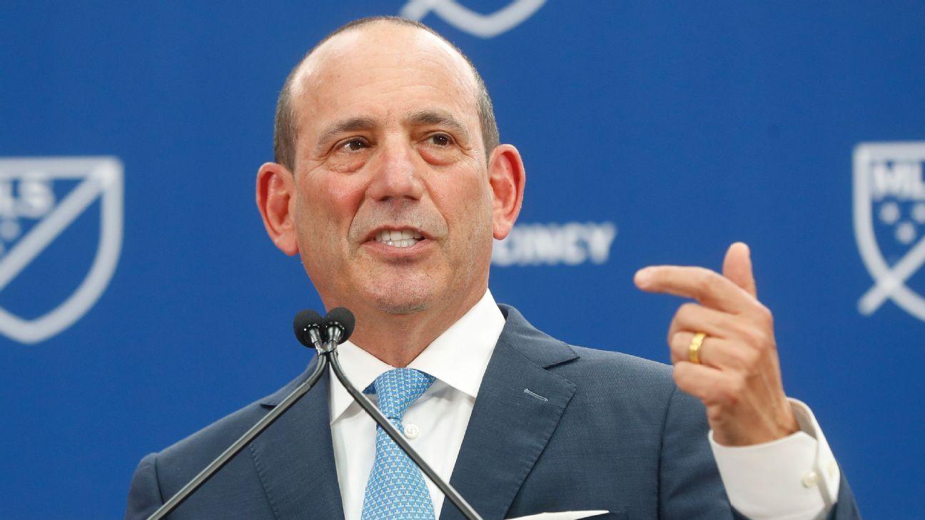 La MLS extiende el contrato de Don Garber hasta 2023
