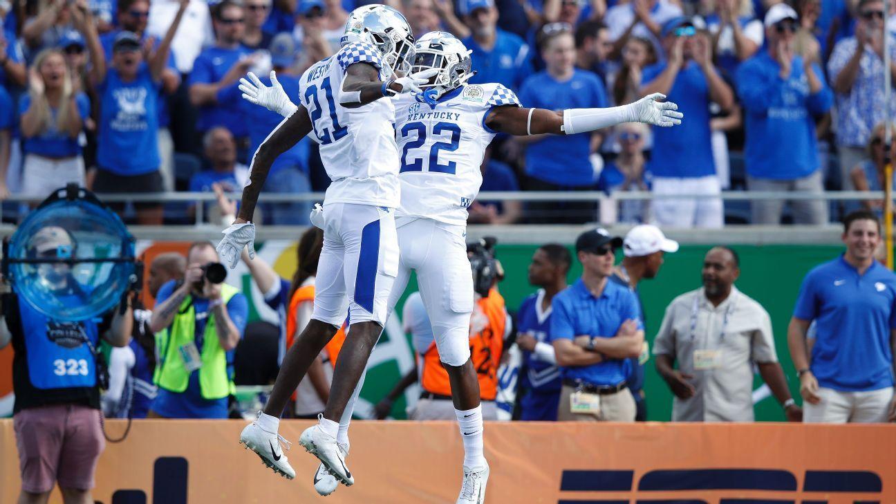 Kentucky impuso sus condiciones en el Citrus Bowl ante Penn State
