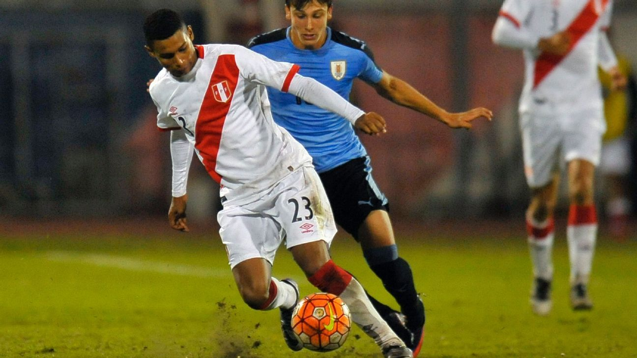 San Jose Earthquakes sign young Peruvian left-back Marcos Lopez