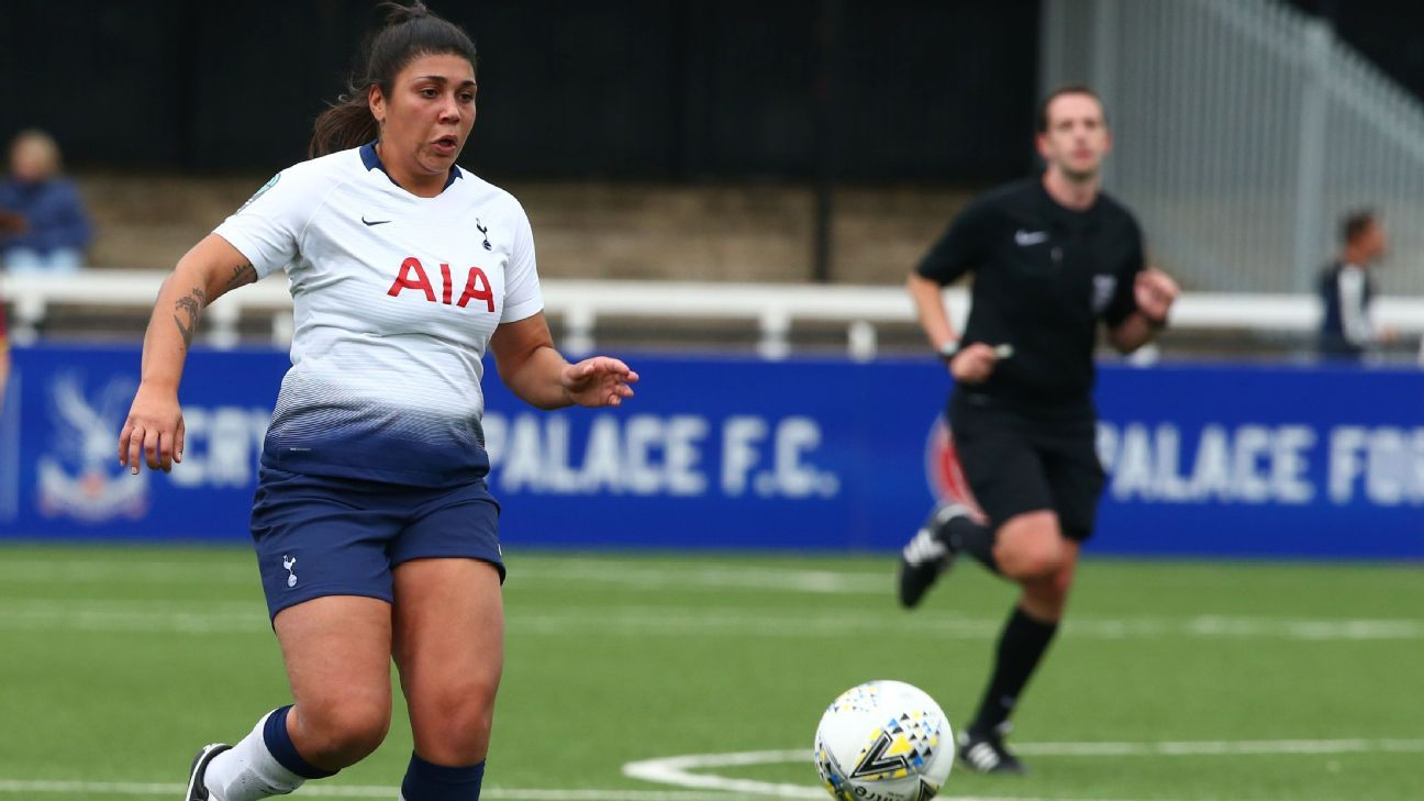 Tottenham Ladies player Renee Hector says opponent racially abused her