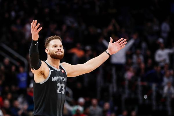 Pistons resting Griffin vs. Cavs for playoff push