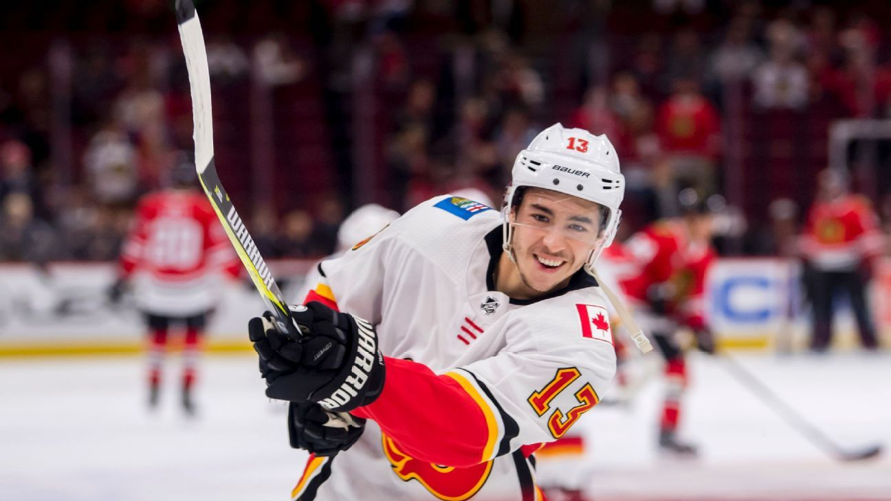 Everything's coming up Johnny Gaudreau lately