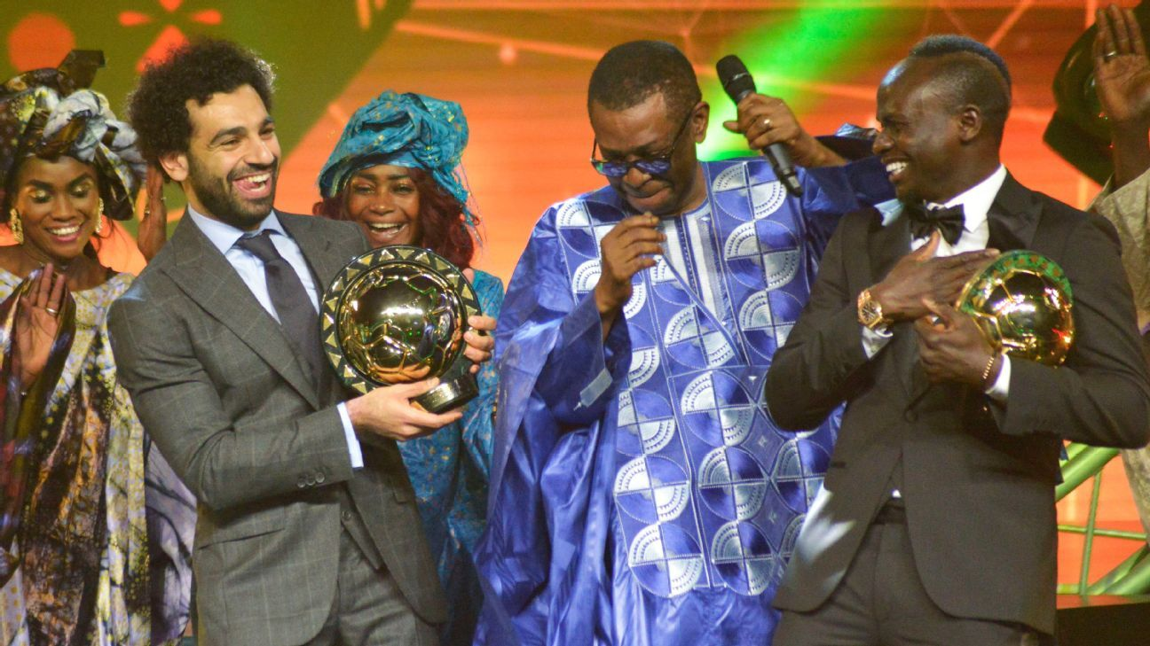 Liverpool's Salah dancing with CAF award will help get you through the day
