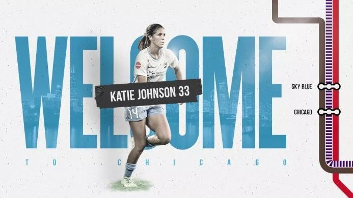 Mexicana Katie Johnson se convierte en refuerzo de Chicago Red Stars