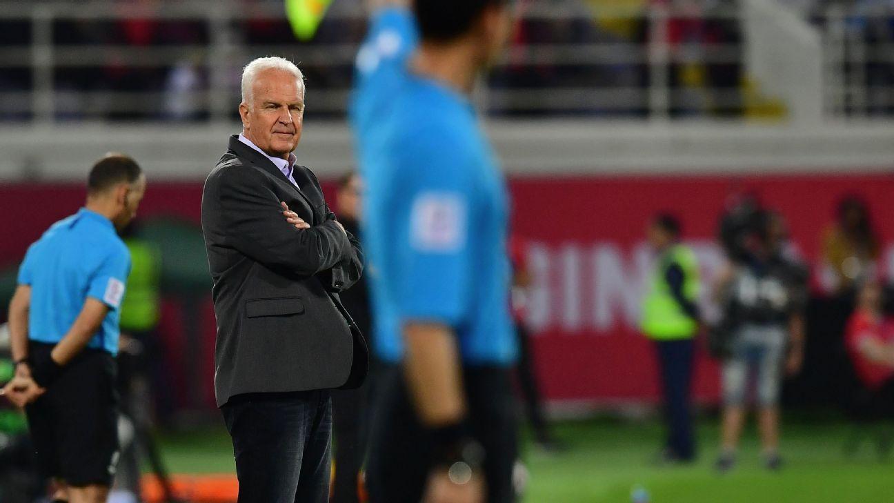 Asian Cup: Syria sack head coach Bernd Stange, bring back Fajr Ibrahim