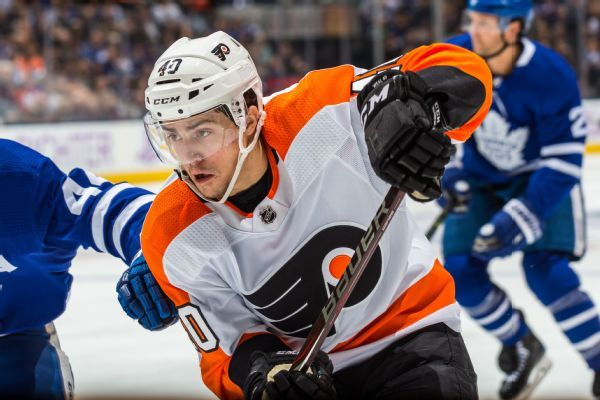 Coyotes acquire center Jordan Weal in trade with Flyers