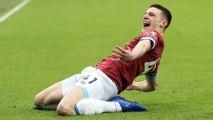 West Ham's Rice plays down Man Utd move talk