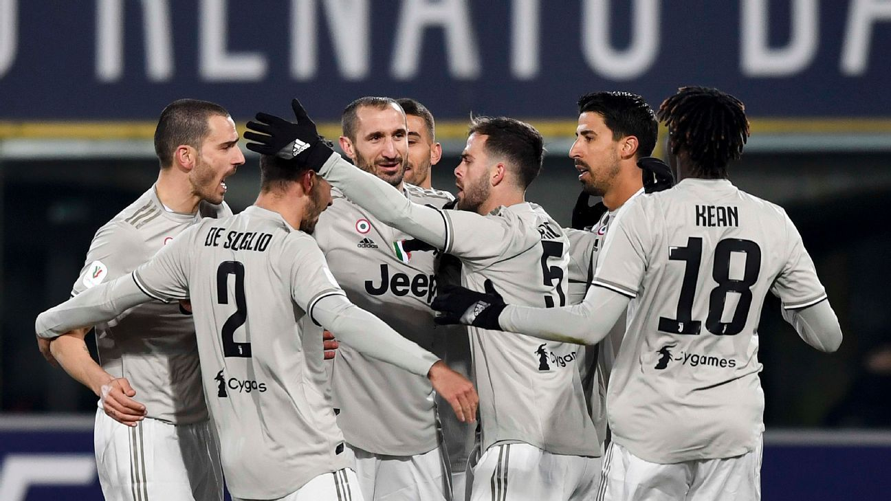 Power Rankings: Juventus stay top, ahead of Barcelona, Liverpool